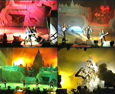 """Die zweite DVD ballert mit einer Spielzeit von 90 Minuten die bekannten 14 Live Tracks der """"12 Wasted Years"""" Veröffentlichung, sowie """"History Of Iron Maiden ..."""
