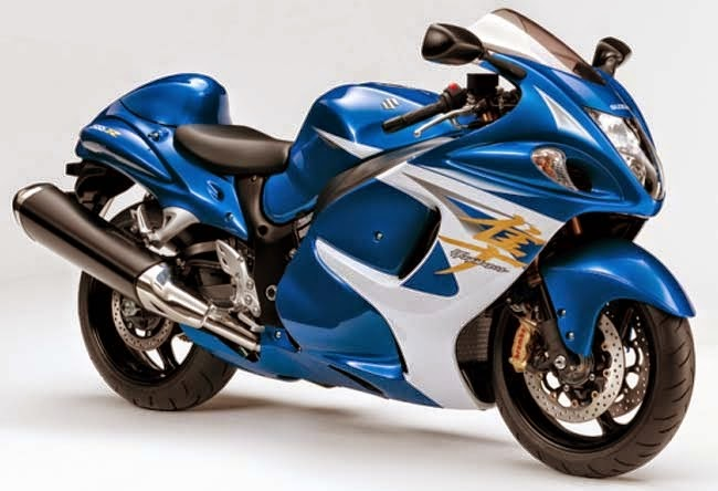 What are some features of the Suzuki Hayabusa GSX1300R?