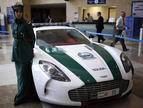 Dubai Police Using Luxury Car Aston Martin One 77 As Their Official Vehicle  Since April Yesterday. . Car Costing Nearly U.S. $ 2 Million (approximately  USD ...