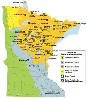 MN Bike Trail Navigator Explore Minnesota39s State Forests