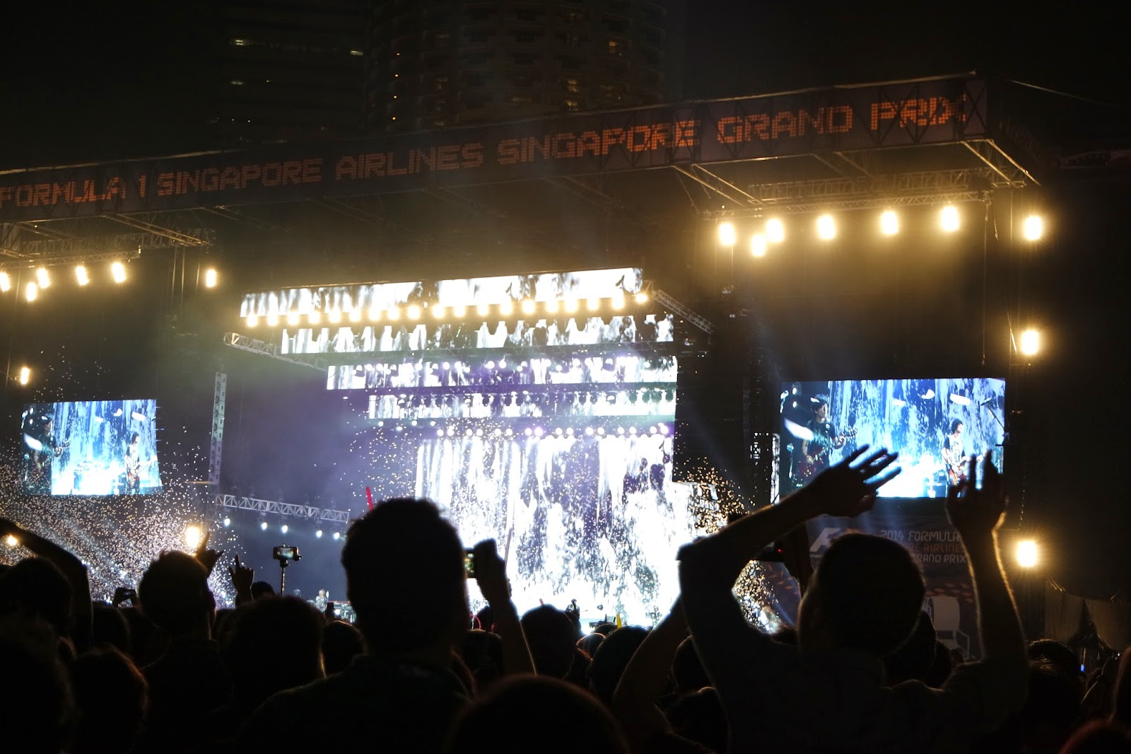 Mayday Singapore F1 2014 Grand Prix Concert