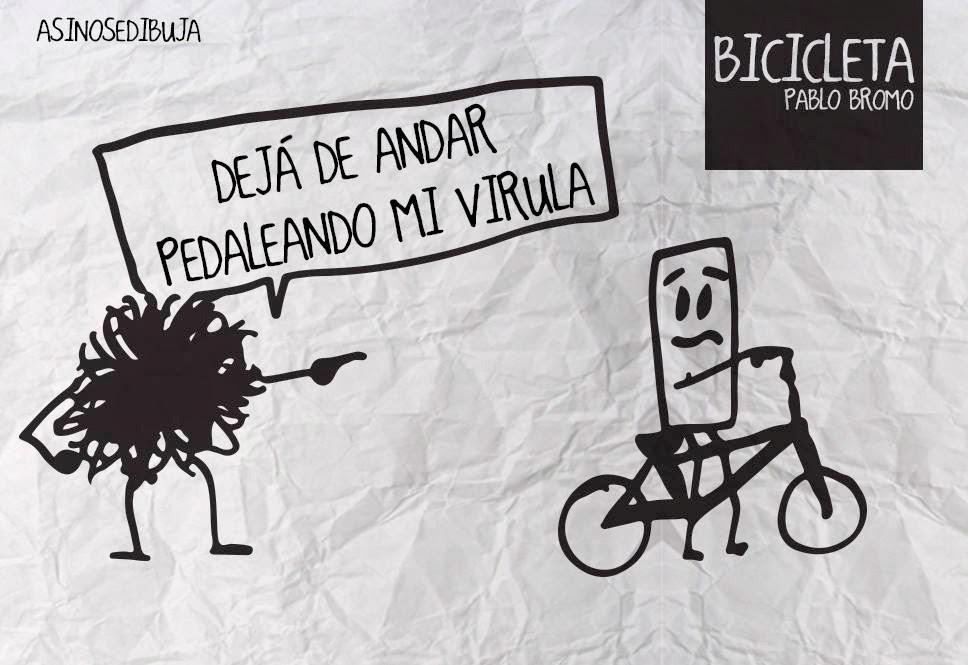 B I C I C L E T A de Pablo Bromo