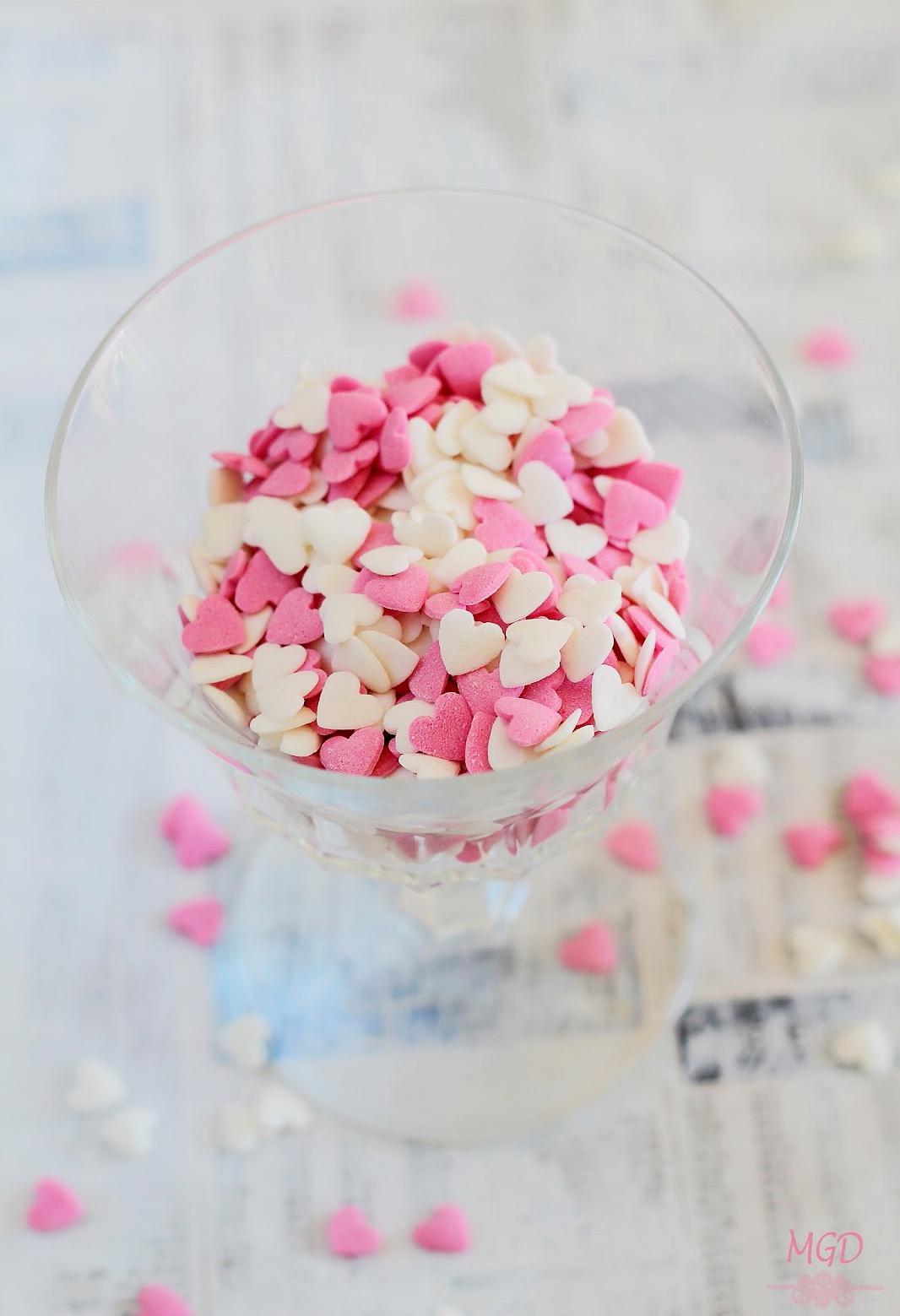 Galletas Pretzel con chocolate san valentin