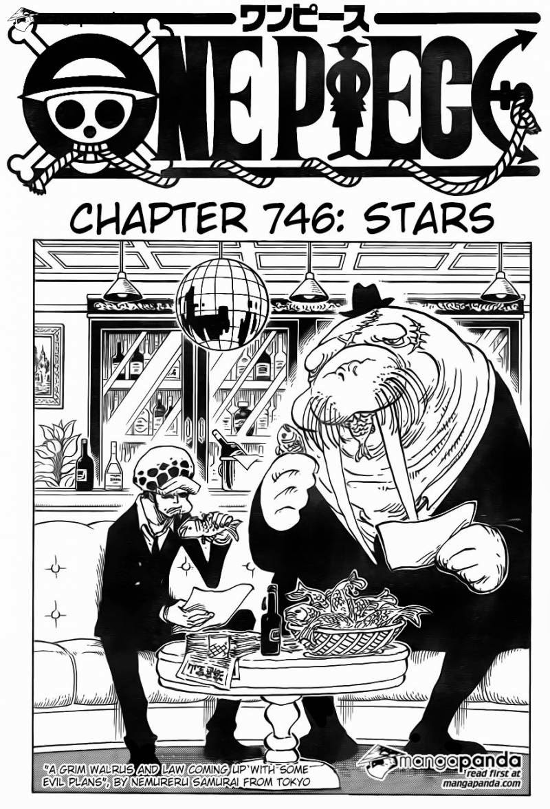 One Piece – Đảo Hải Tặc chap 746 Trang 3 - Mangak.info