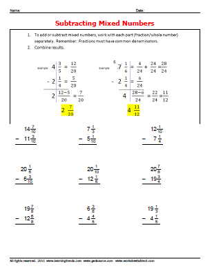 gedmath: GED Math Worksheets