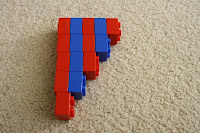 Duplo Number Rods by Julie from The Adventues of Bear at Totally Tots