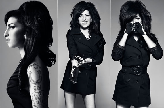 Amy Winehouse Feather Tattoo