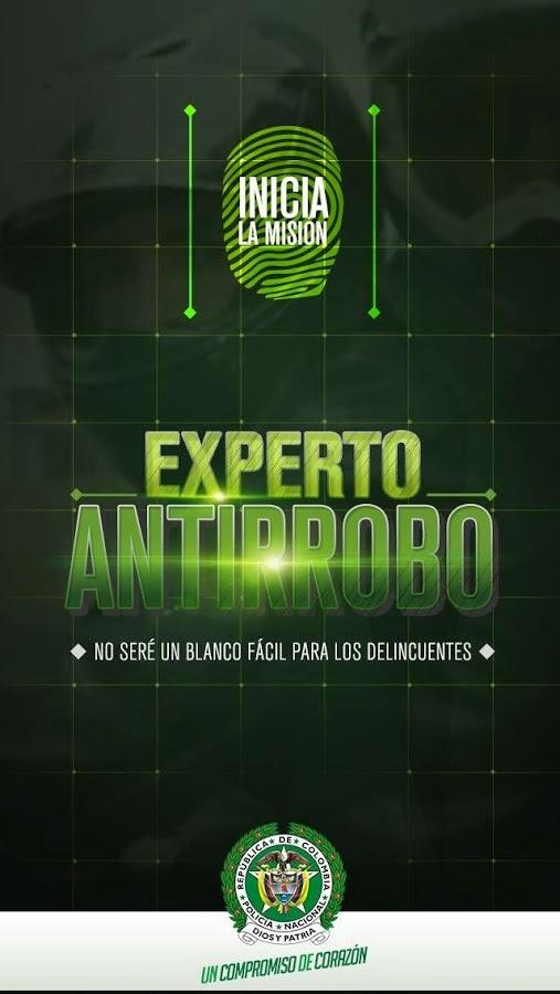 App Experto Antirrobo