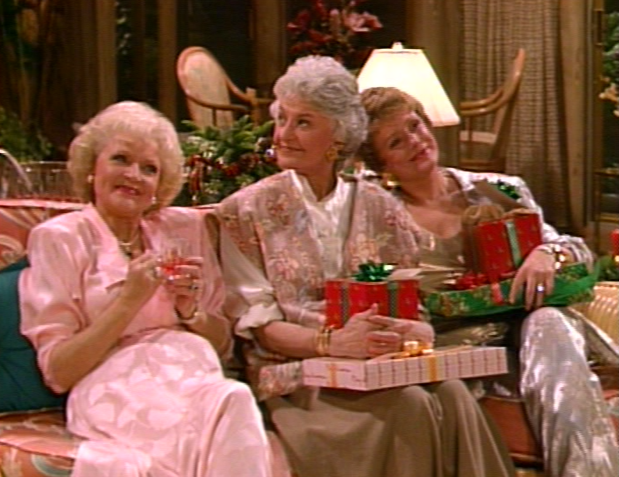 Christmas TV History: Betty White: The Golden Girls Christmas (1986)