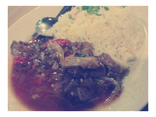 Nasi Goreng Daging Merah