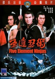 Phim Ngũ Độn Nhẫn Thuật-Five Element Ninjas