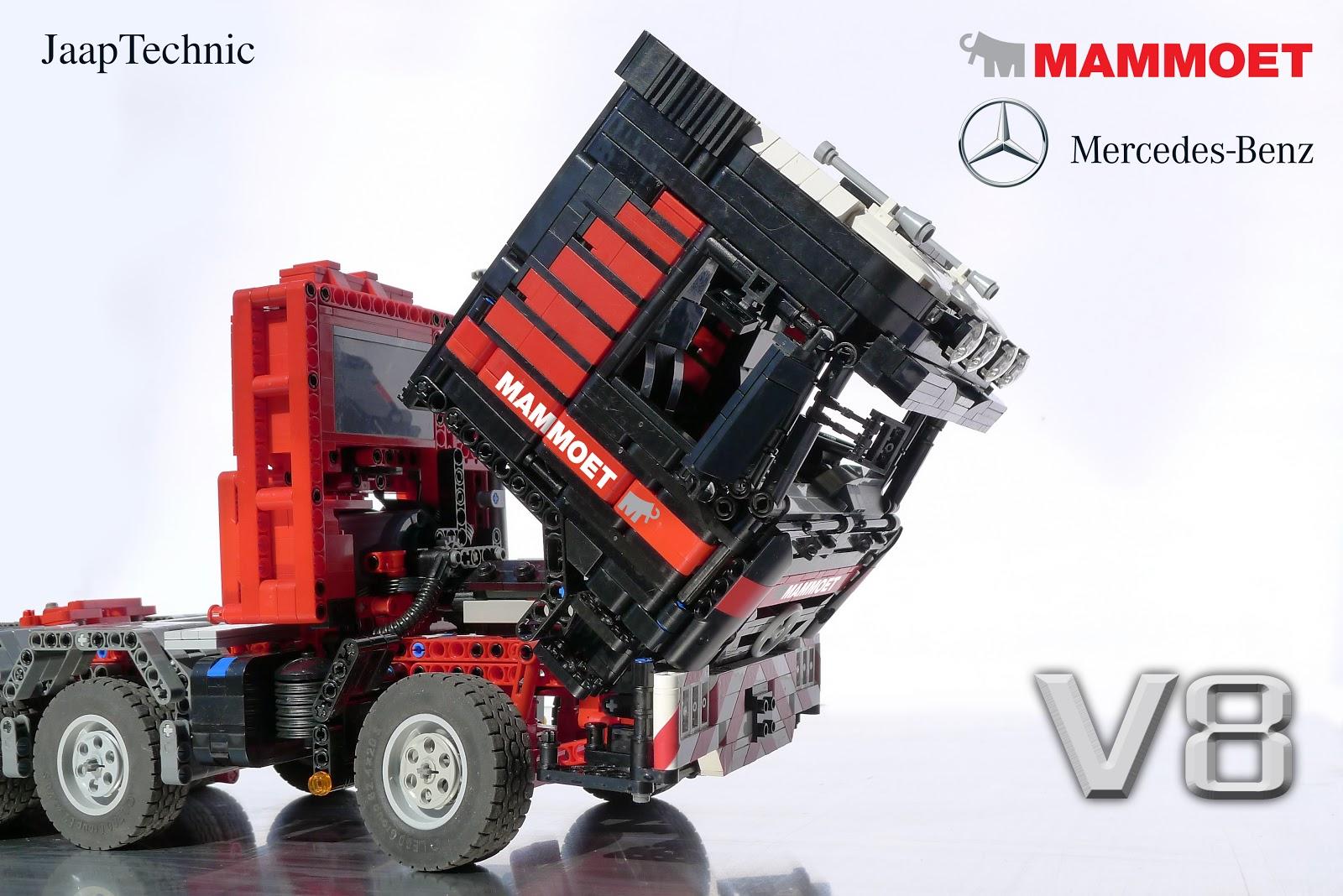 Truck Cab Inside >> Mercedes-Benz Actros 4160 Mammoet ~ JaapTechnic