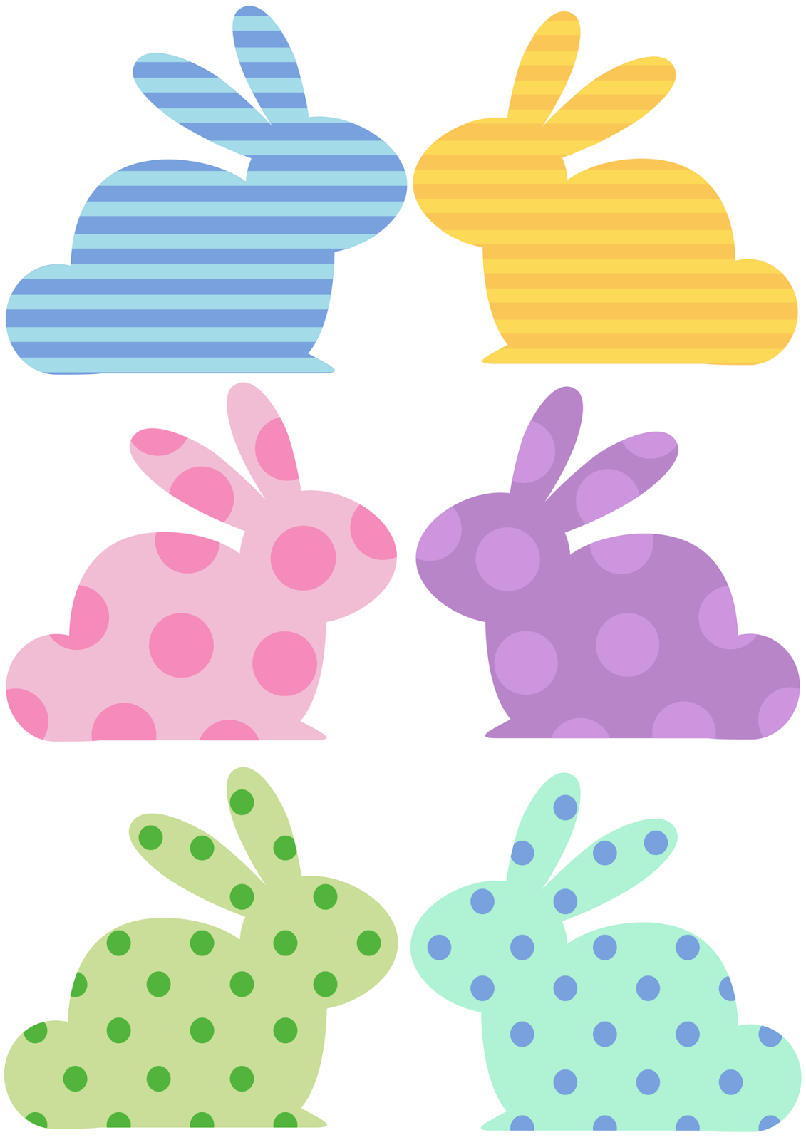 savvy spending diy make a cute bunny banner with fluffy yarn tails