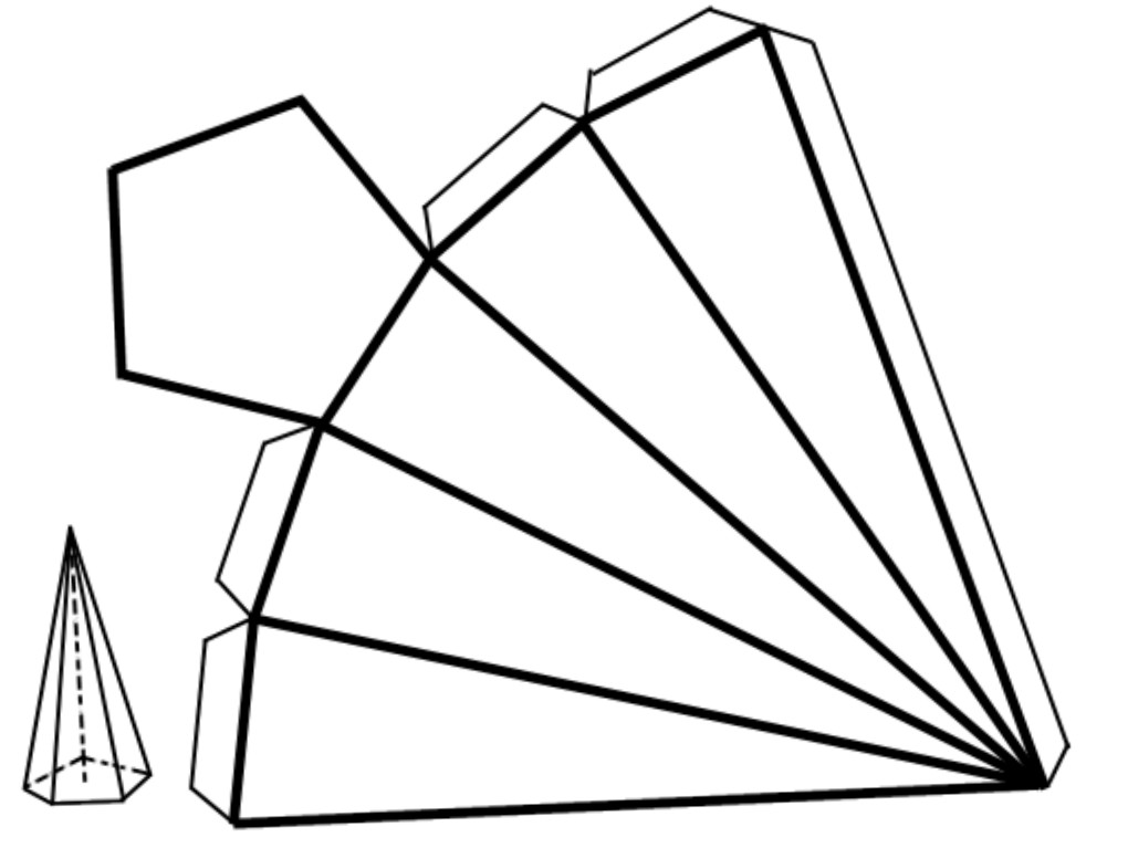 Piramide De Base Pentagonal