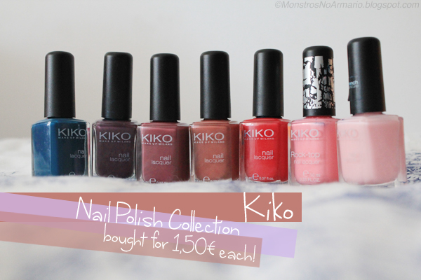 KIKO Nail Polish Collection - haul and swatches