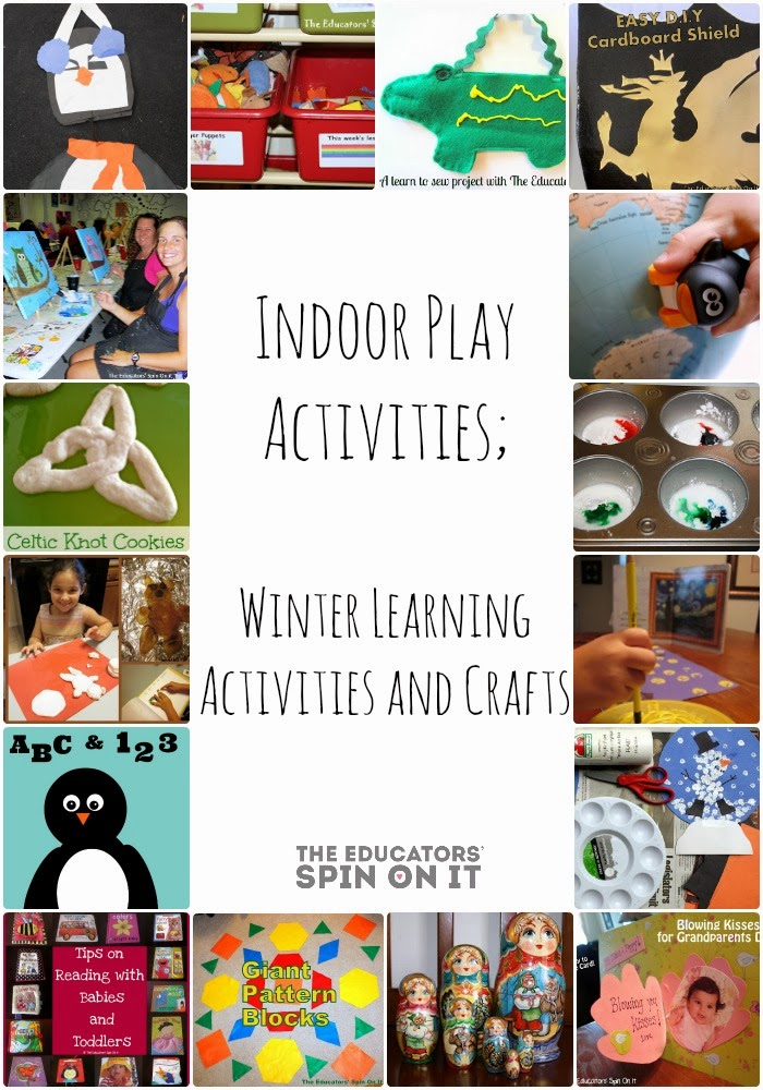 The educators 39 spin on it indoor play activities winter for Indoor play activities