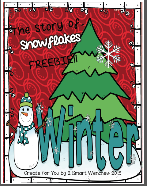 http://www.teacherspayteachers.com/Product/Winter-Freebie-The-Story-of-Snowflakes-1622462