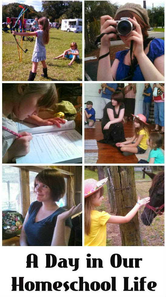 See what a day in the life of a homeschool is like for this Charlotte Mason family and how I accommodate kids with bipolar disorder.