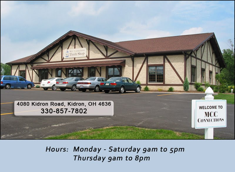 MCC Connections Blog,  Kidron, Ohio