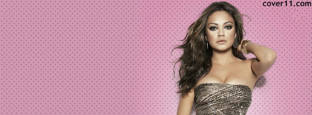 Mila Kunis Facebook Cover Photos 2013