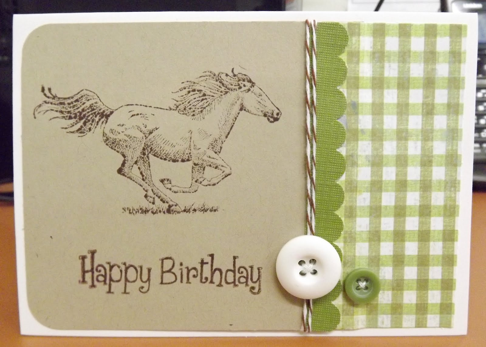 Открытка лошадь своими руками на день рождения7