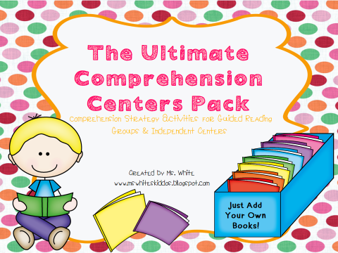http://www.teacherspayteachers.com/Product/The-Ultimate-Interactive-Comprehension-PackGuided-Reading-Independent-Centers-1035634