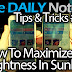 Galaxy Note 3 Tips & Tricks Episode 34: How To Display Maximum Brightness on Note 3