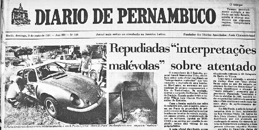 3 de maio de 1981 - O feitiço, o América e o Rio Centro