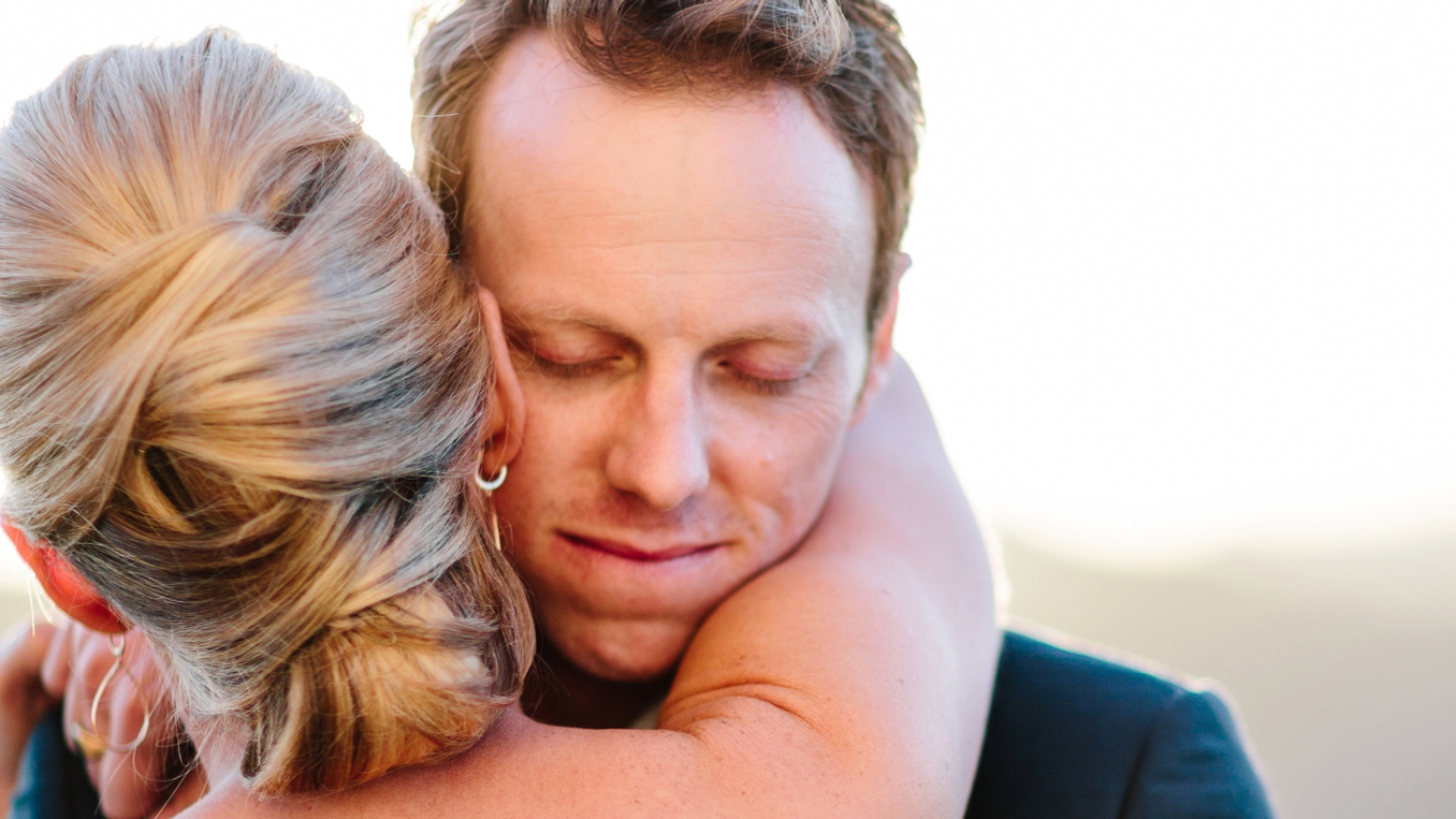 Sunny and Wally's gorgeous outdoor wedding at Malibu Rocky Oaks photo by STUDIO 1208