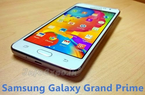 Samsung Galaxy Grand Prime: 5-inch,5MP Front Cam Selfie Android KitKat Phone Specs, Price