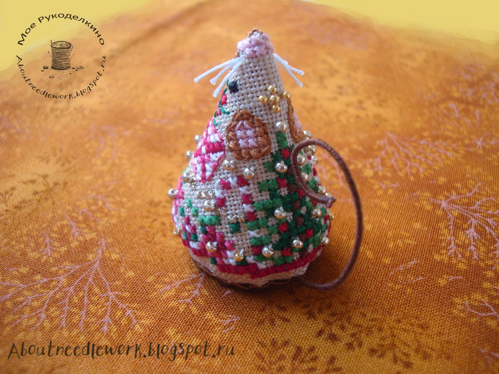 Мышка Gingerbread Mouse Just Nan