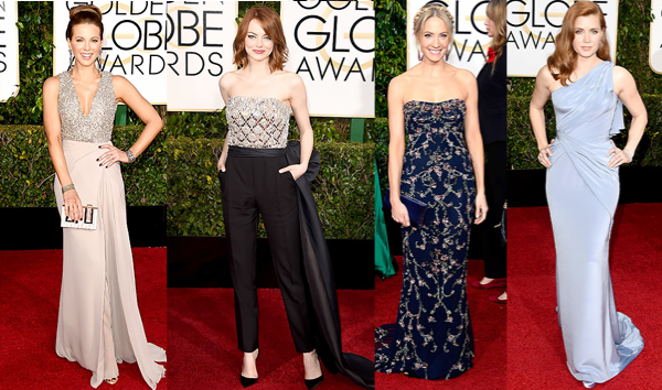 Golden Globes 2015 fashion, Golden Globes red carpet