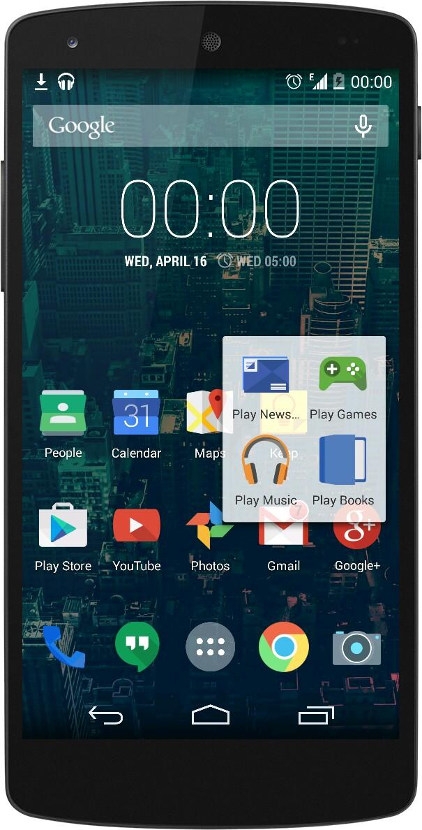 ... screenshot Android dengan desain ikon baru telah beredar di