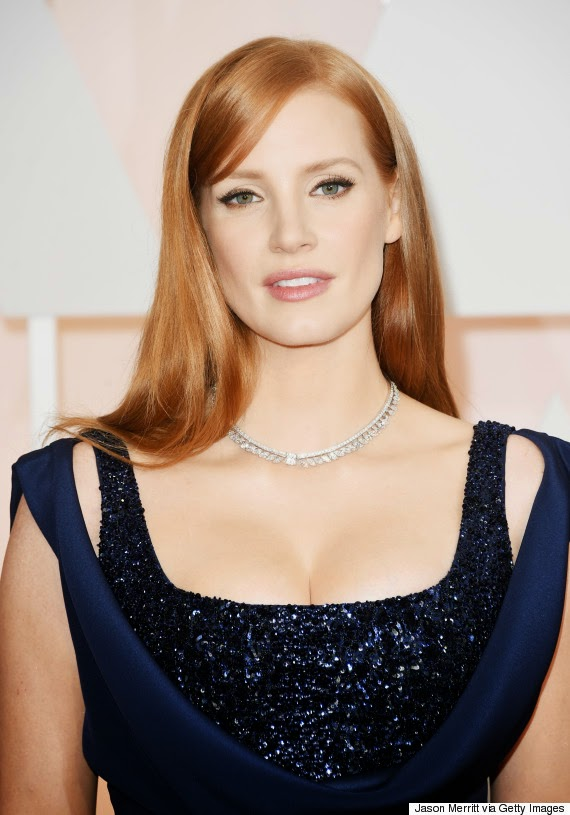 make up oscars 2015 jessica chastain