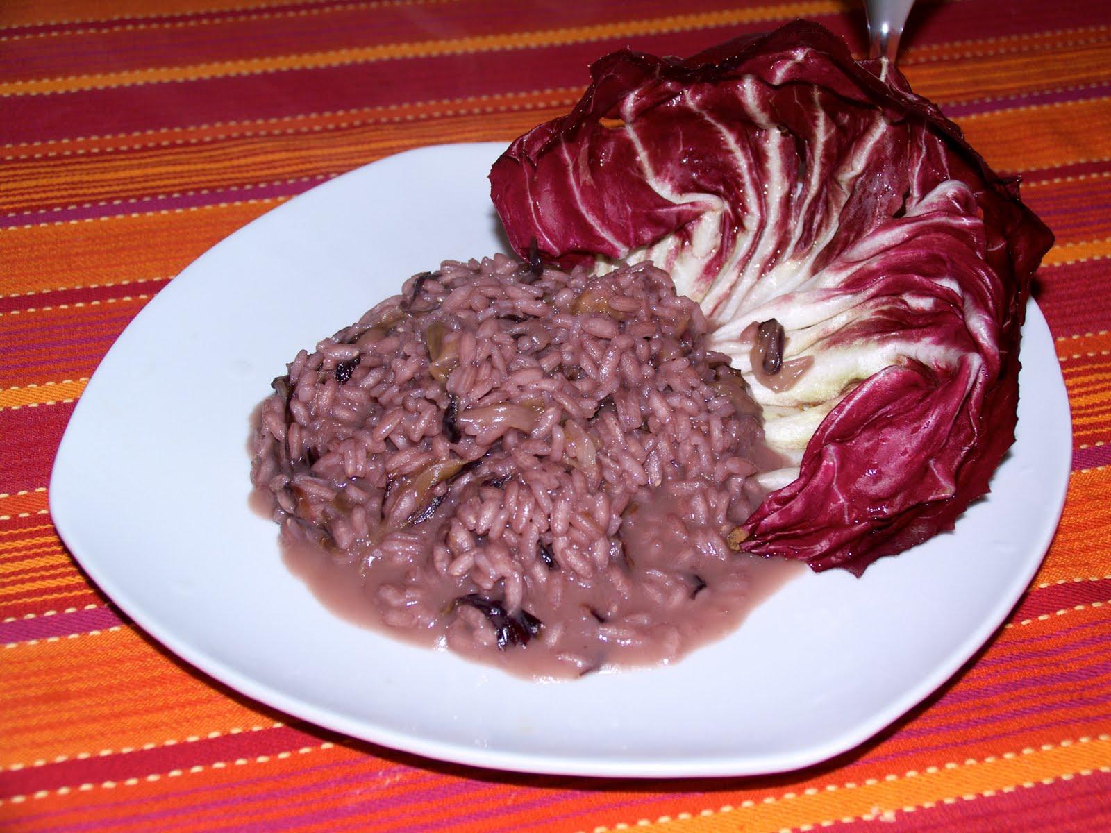 Le Ricette di Muflina: Primi piatti - Risotto al radicchio rosso