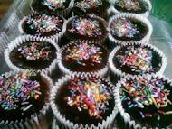 Coklat Moist cup cake