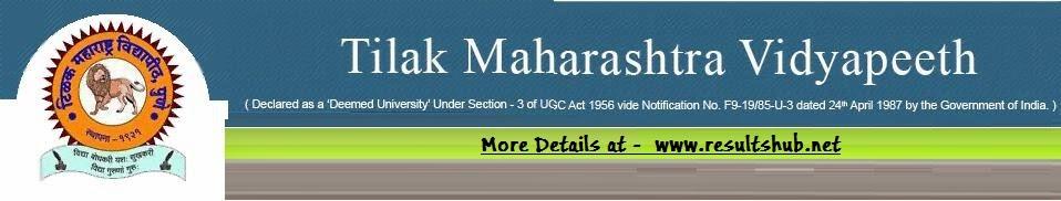 Tilak Maharashtra Vidyapeeth Results 2014