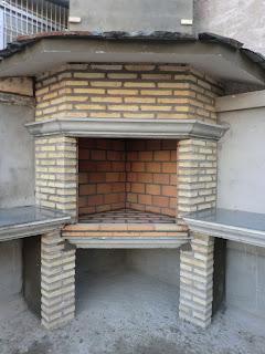 Coecu lepida sl chimenea de obra exterior for Construccion de chimeneas de ladrillo
