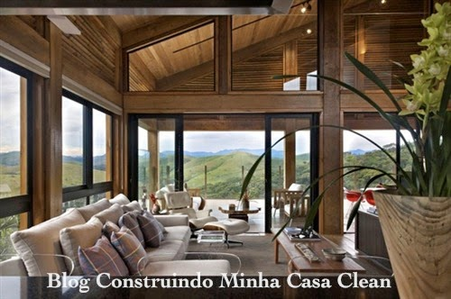 Construindo minha casa clean 30 casas de campo decoradas for Sleeping with window open in winter