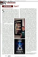 """La Mia Recensione del Film """"Super 8"""", Pubblicata sul Magazine """"XTIMES"""""""