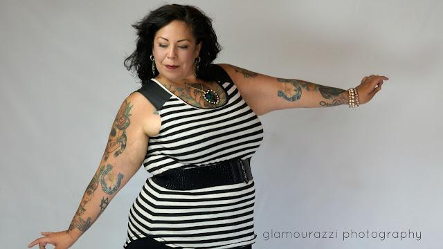 Doing my best Marie Denee AKA The Curvy Fashionista