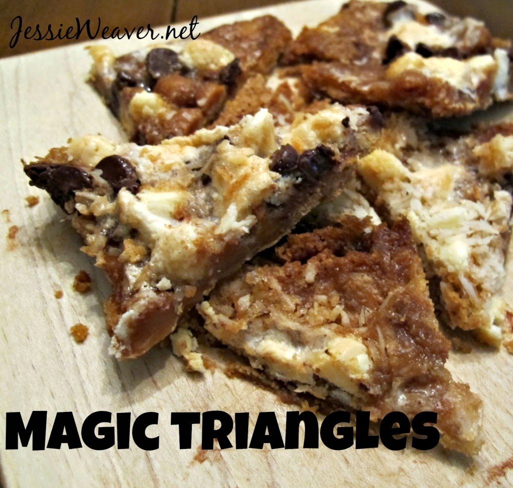 Featured Recipe | Magic Triangles from Jessie Weaver #secretrecipeclub