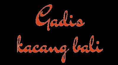 Gadis Kacang Bali