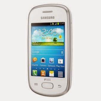 Samsung Galaxy Star S5282, ponsel pintar low-end dari Samsung memberikan Kamu kemudahakan utk konsisten berkomunikasi & eksis bersama keluarga