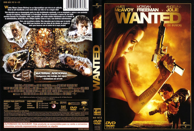 Wanted (Se Busca) DVD
