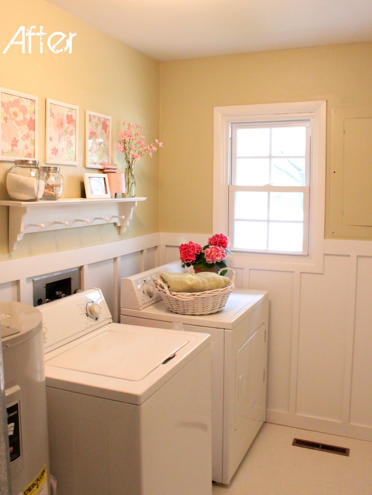 My laundry room makeover love of family home for Laundry room redo blog