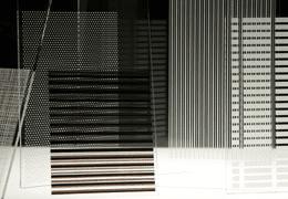 Kaca film gedung fasara singgle patterned