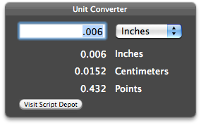 unit converter app screenshot