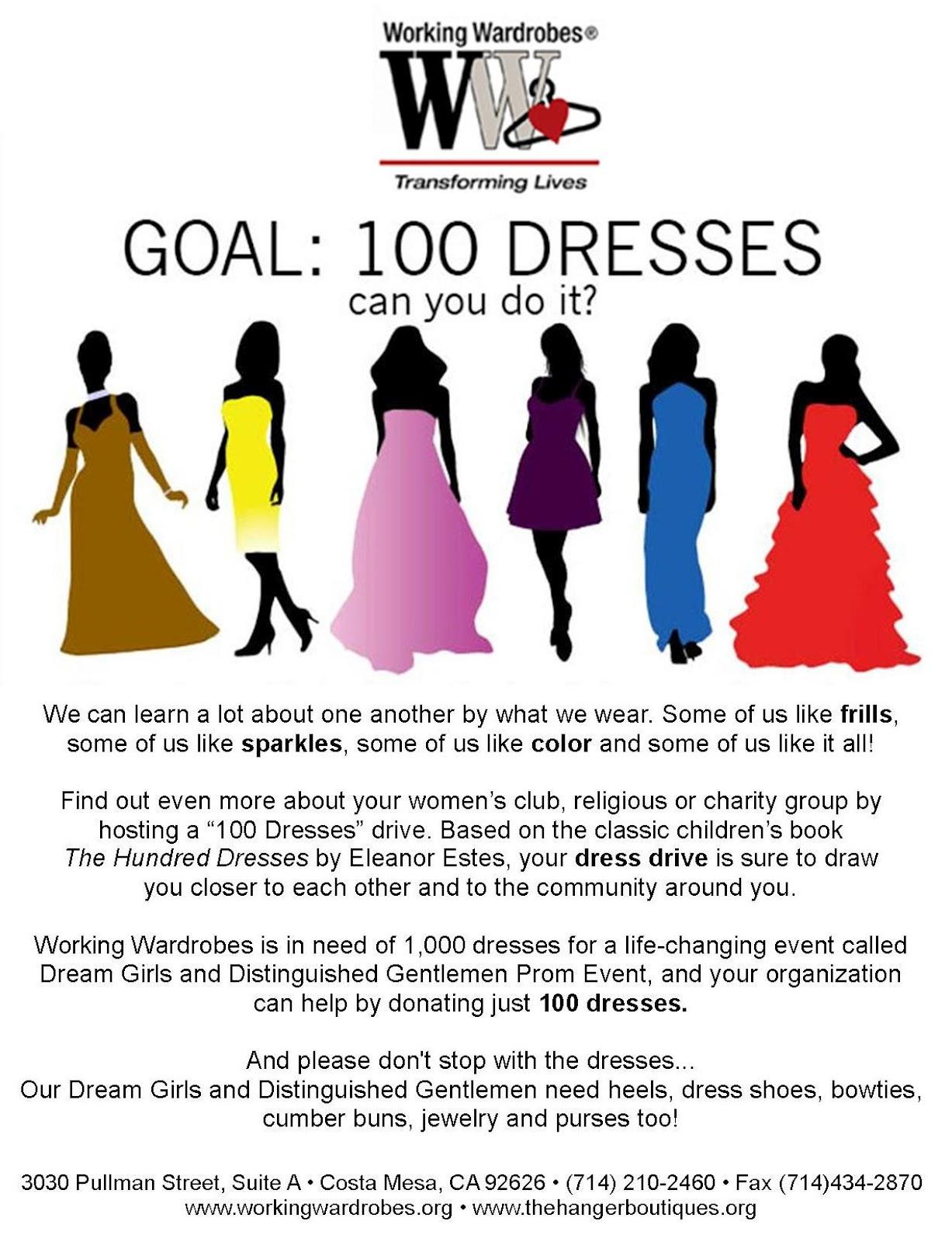Donating Prom Dresses