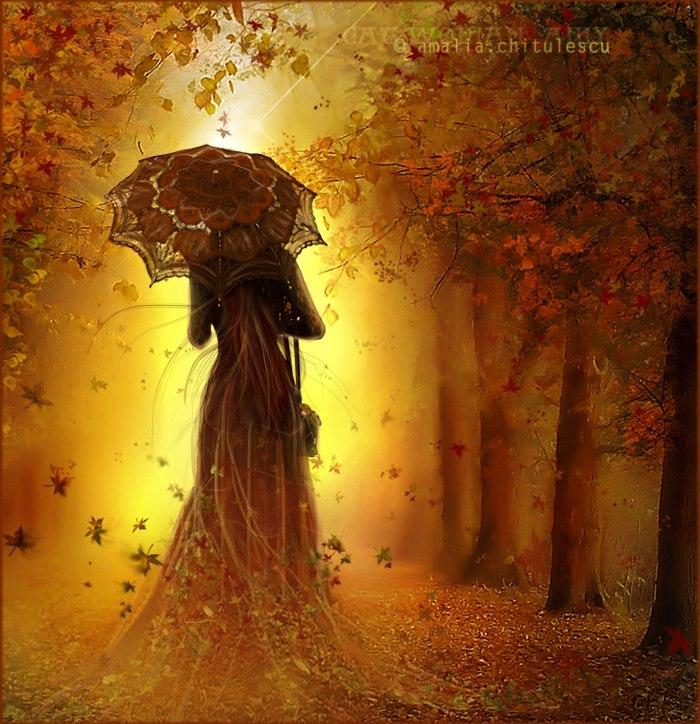 femme+automne